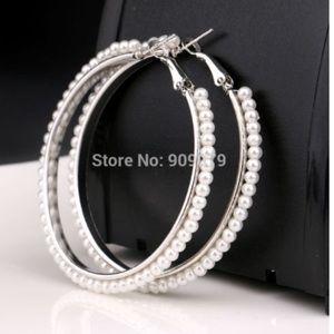 Big Round Hoop Earrings